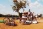 Echoppe en brousse. Crédit photo : Anne Mimault, Sesame Pictures, Burkina Faso, 2012