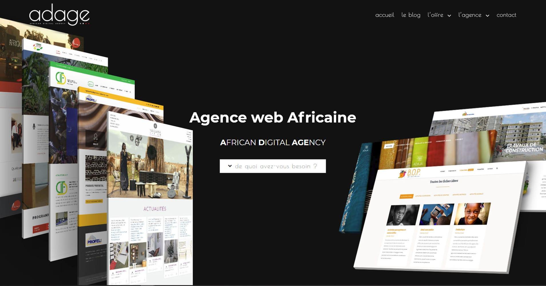 Un nouveau site web pour Adage
